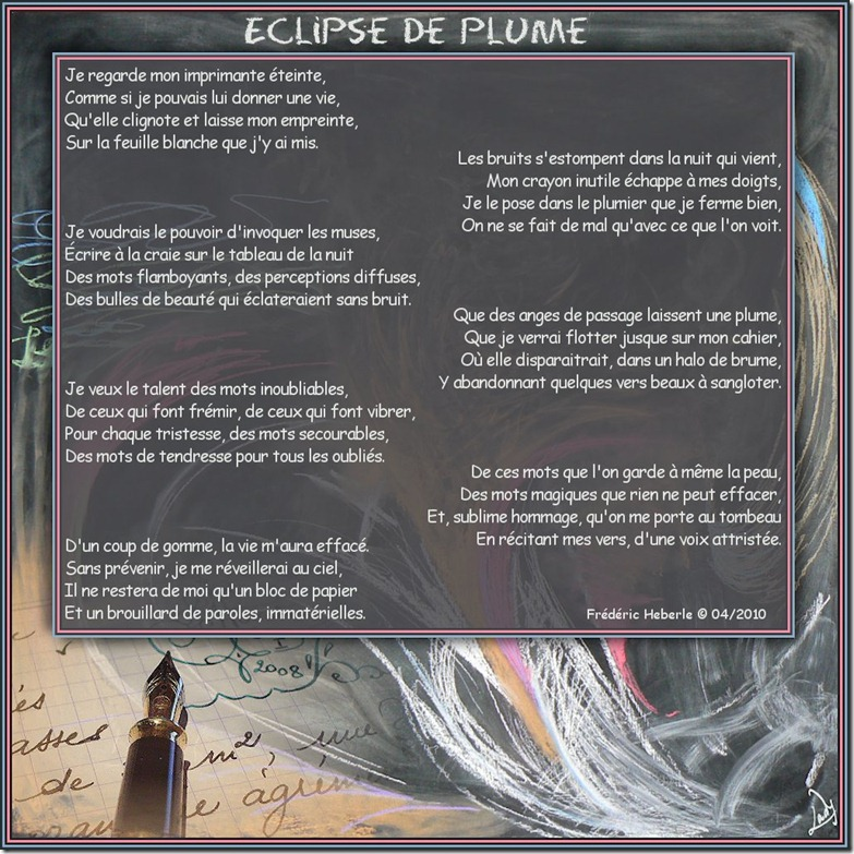 Eclipse de Plume